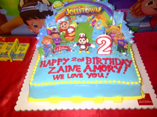 Jollitown cake from Red Ribbon