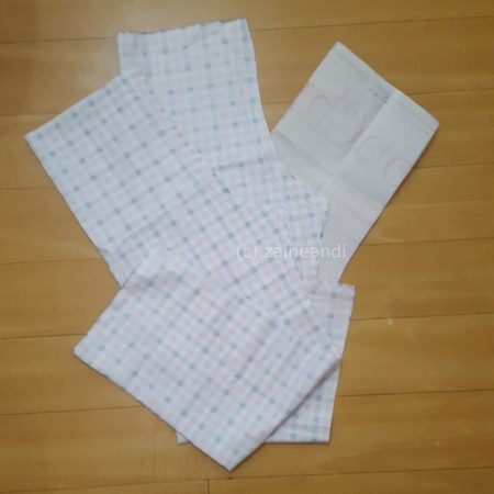 DIY pajama pants_cutting