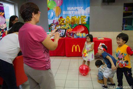 McDonald's McCelebrations kids photo