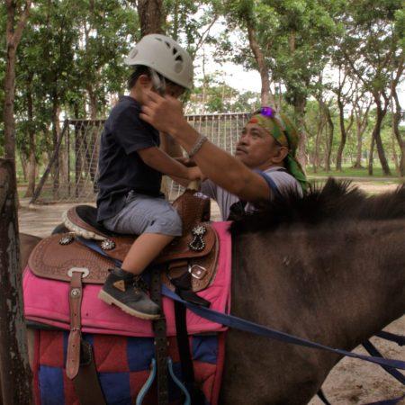 horseback riding zaine