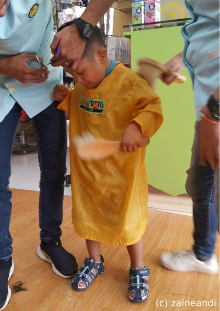homeschool on hold z goes preschool haircut