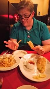 Fries and Zucchini _ Zainey Laney