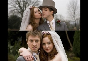 Amy and Rory Doctor Who _ Zainey Laney