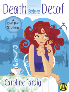 Death Before Decaf by Caroline Fardig _ Zainey Laney