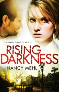 Rising Darkness by Nancy Mehl Book Review _ Zainey Laney