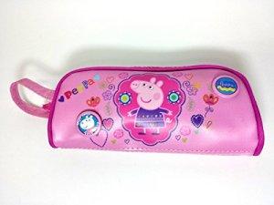 Astuccio Bauletto Peppa Pig Tombolino Scuola Porta Colori Zip 0