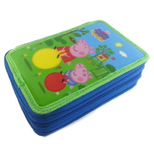Astuccio Scuola Peppa Pig E George 3 Cerniere 0