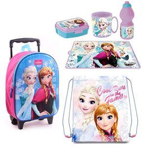 Frozen Principesse Zainetto Zaino Trolley In 3d Sacca Sport Set Colazione Merenda Scuola Materna Asilo Escursioni Tempo Libero 0
