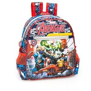 Marvel Avengers 61216 Zaino Asilo 29cm Poliestere Scuola Tempo Libero Captain America Thor Hulk Iron Man 0
