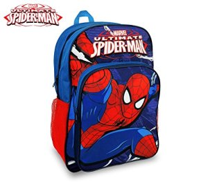 Marvel Sp16102 Zaino A Spalla Adattabile Per Trolley Scuola Spiderman 42x31x12 Cm Media Wave Store 0