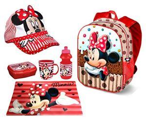 Minnie Disney Muffin Zainetto Zainoporta Merenda Cappello Scuola Asilo Tempo Libero 0
