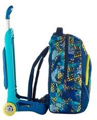 Trolley Jack Junior Sj Gang Blu 28 Lt Sganciabile E Lavabile Scuola E Viaggio 0 5