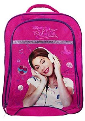 Violetta Disney Zaino Listen To Love Tasca Grande Prodotto Ufficiale 0