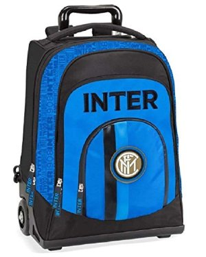 Zaino Trolley Inter Per Scuola Ufficiale 45x35 0