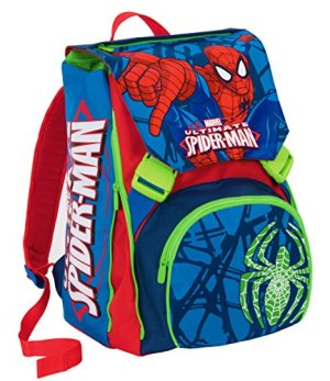Zaino Scuola Estensibile Marvel Ultimate Spiderman Blu 31lt 0