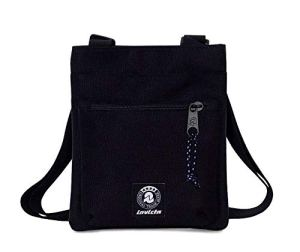 Invicta Borsa Tracolla Uomo Tiny Mini Shoulder Nera 0