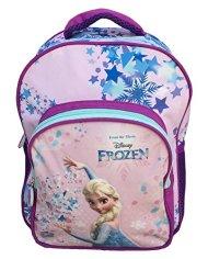 Zaino Frozen Elsa Disney Asilo Borsa Scuola Sagome 3d Cm30 Fr0235 0 1