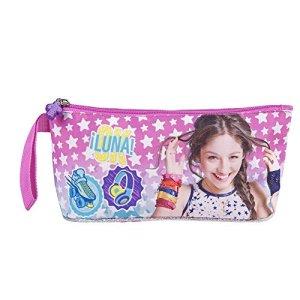 Astuccio Bambina Per La Scuola Astuccio Soy Luna Portapenne E Portamatite Perletti 10x21x8 Cm 0