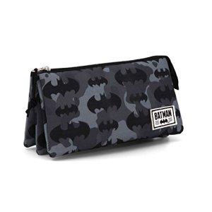 Batman Cammo Astuccio 24 Cm Nero Negro 0