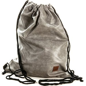 Gymbag Hipster Borsa Sportiva Sacchetto Turn Bag Stringbag Acciaio Exclusiv 0