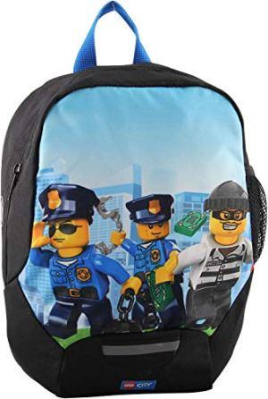 Lego Bags Lego Bags Zaino Leggero Per Bambini Con Lego City 32 Cm Police Chopper Blu 400806457 0