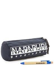 Napapijri Happy Pencil Case Astuccio 22 Cm Blu Blu Marine 0 3