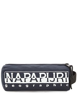 Napapijri Happy Pencil Case Astuccio 22 Cm Blu Blu Marine 0