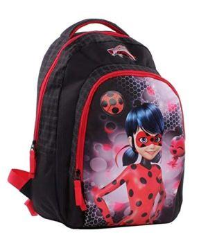 Miraculous Ladybug E Cat Noir Zaino Scuola Elementare 44 Cm 0