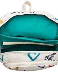 Desigual Bag Natural Message Novara Women Borse A Zainetto Donna Bianco Crudo 12x353x287 Cm B X H T 0 1