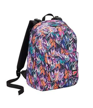 Zaino Seven The Double Plume Multicolore Cuffie Wireless 2 Zaini In 1 Reversibile 0