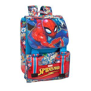 Marvel Spiderman 46112 Zaino Da Scuola Estensibile Poliestere Multicolore 0