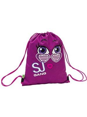 Soft Backpack Seven Sj Faccine Rosa Sacca 0
