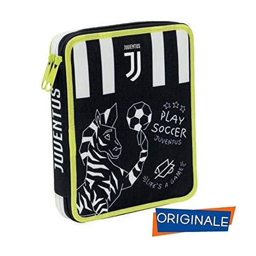 Astuccio 2 Zip Maxi Con Corredo Juventus 0