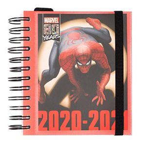 Diario Scuola Giornaliero 20202021 Spiderman Marvel Classic 11 Mesi Daily Planner 14x16 Cm 0