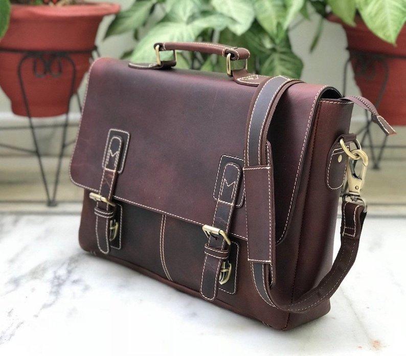 Zakara Leather Cross Body Bag