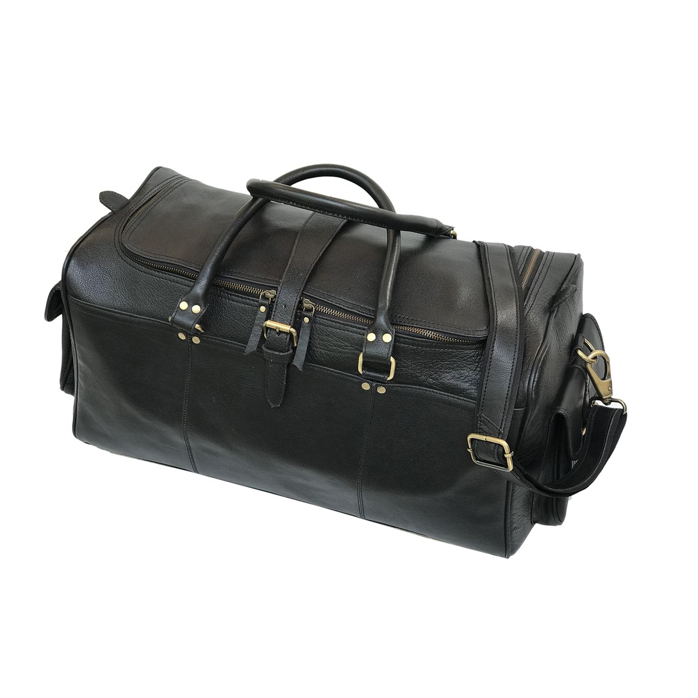 Zakara Leather Overnight Travel Bag