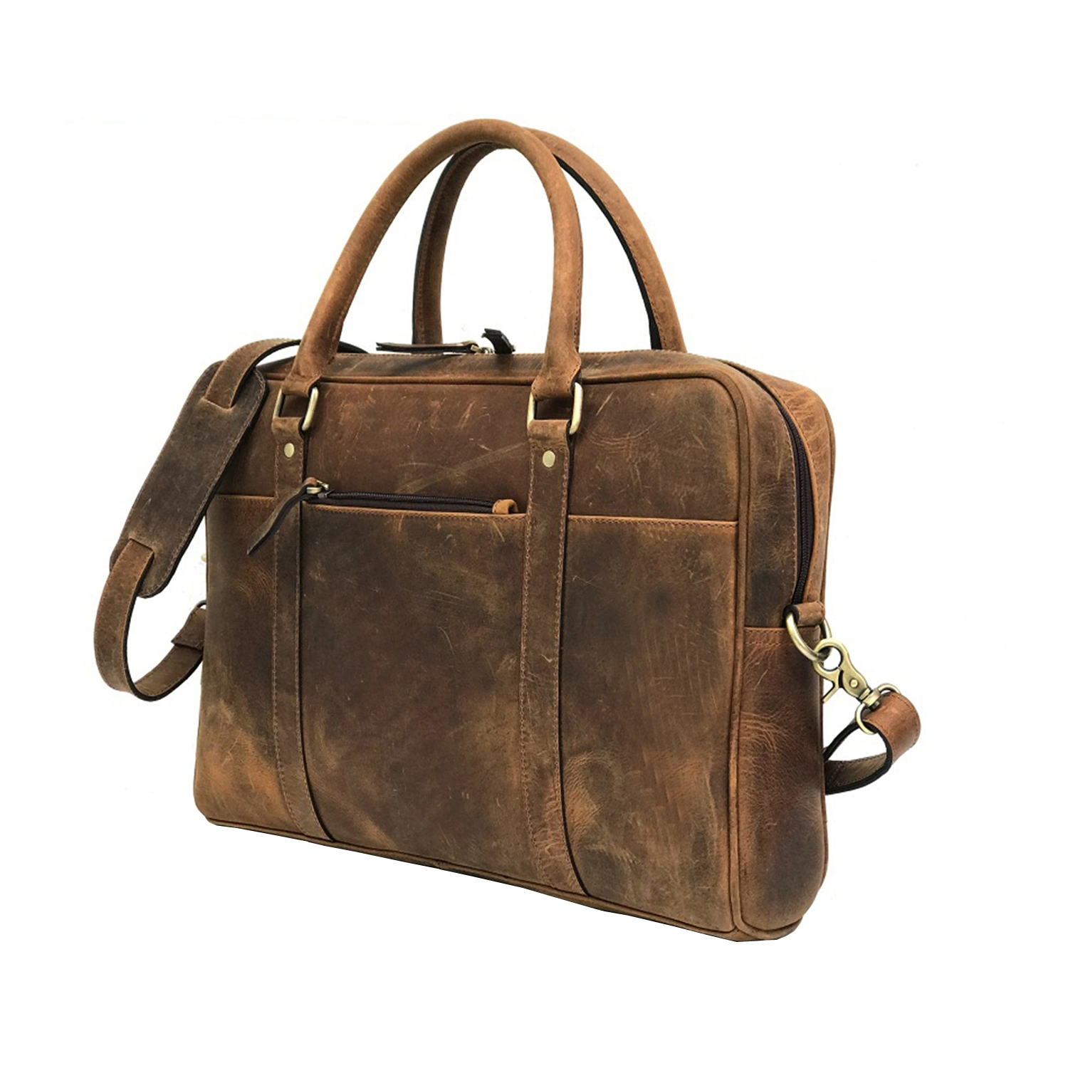 Zakara Leather Portfolio Bag