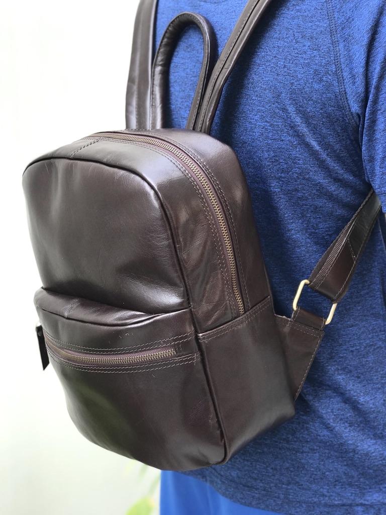 Zakara Leather Ladies Backpack