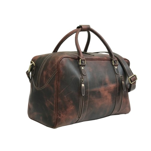 Zakara Leather Gym Bag
