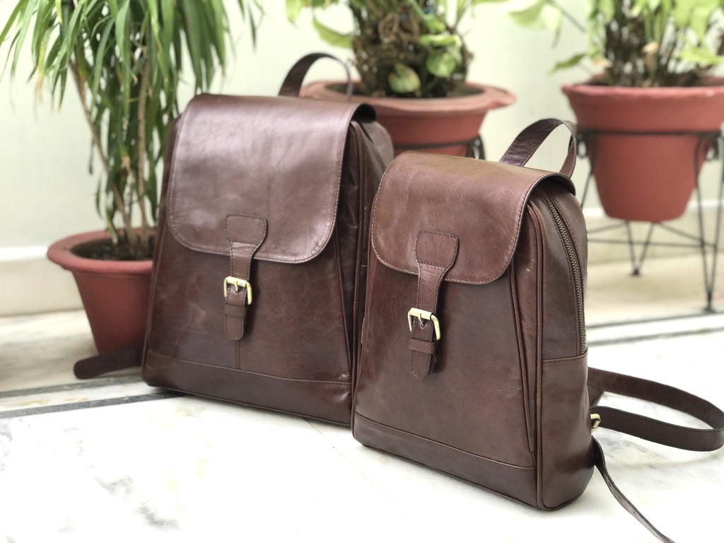 Zakara Leather School Bag