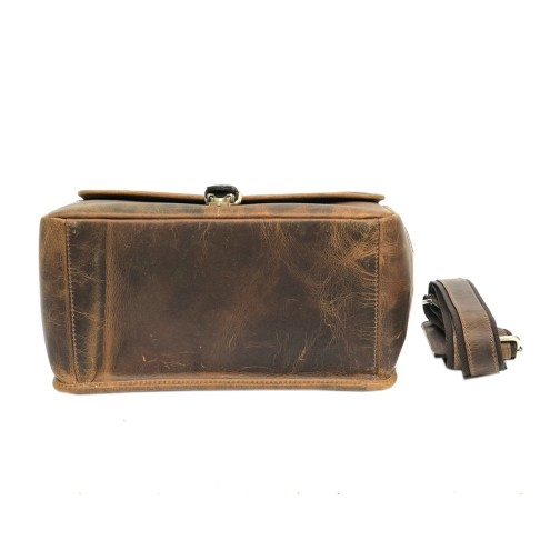 Zakara Leather Camera Bag