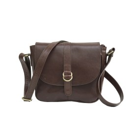 Zakara Leather Cross Body Bag