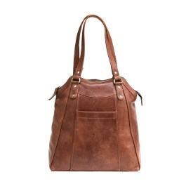 Rustic Brown Large Ladies Tote Bag