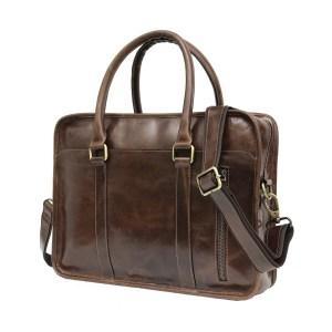 Genuine Buffalo Leather Laptop Bag