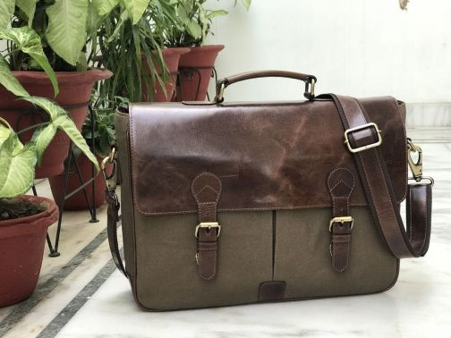 Zakara Canvas Laptop Bag