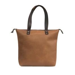 Genuine Leather Women Tote Bag
