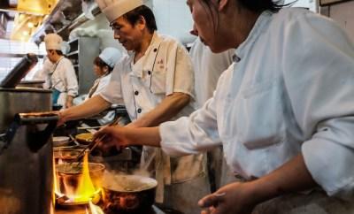 Aziatische koks, wokakoord