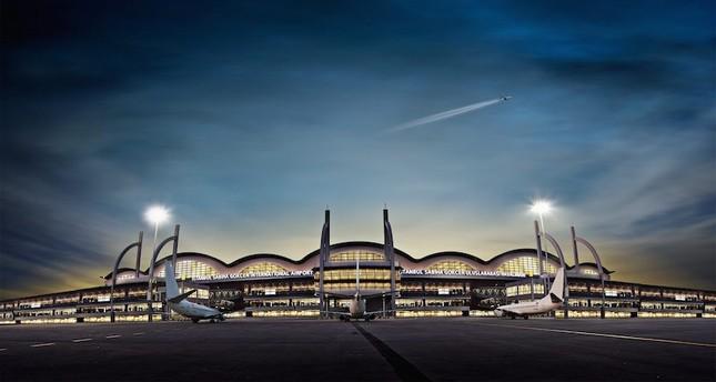 Sabiha Gökçen Luchthaven van Istanbul laat groei zien
