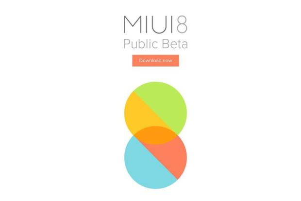 Xiaomi's MIUI 8's Public Beta Version is Now Available for