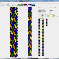 Darmowy program do tworzenia wzorów bransoletek z koralików
